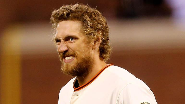 11 Funny Faces Of Giants' Hunter Pence      Alice@97.3