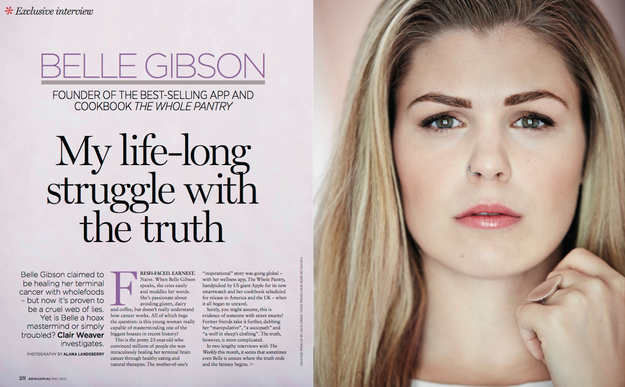 11 Things We Learned From Belle Gibson's Tell-All Interview