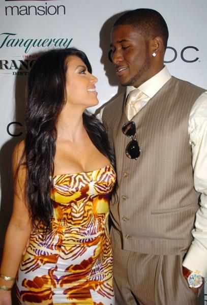 Pics Photos - Kim Kardashian Reggie Bush Gq Magazine