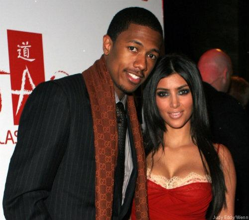 Nick Cannon criticized for posting throwback picture with Kim