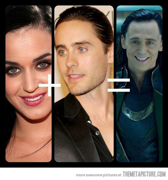 Katy + Jared = Loki Perry Leto - The Meta Picture