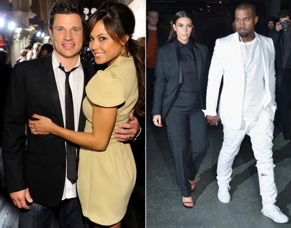 Nick Lachey implies Kim Kardashian called the paparazzi on their 2006