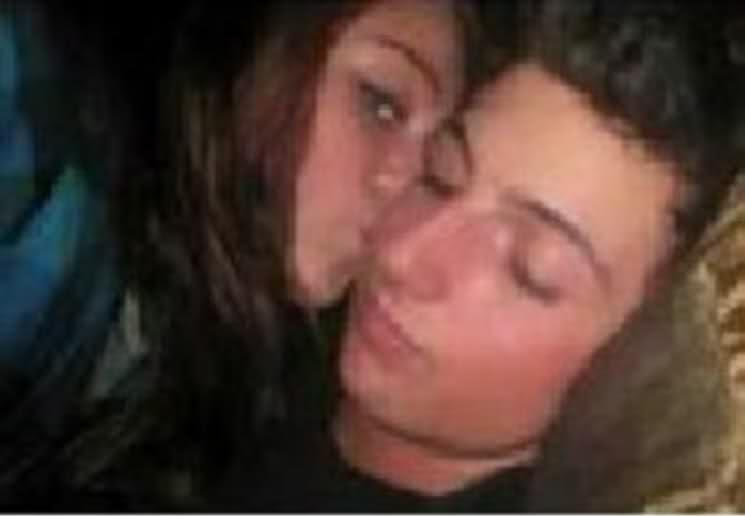 Miley Cyrus & Thomas Sturges Making Out Here is a new - Oh No They