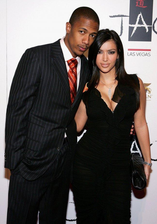 Nick Cannon previously dated Kim Kardashian (Getty)