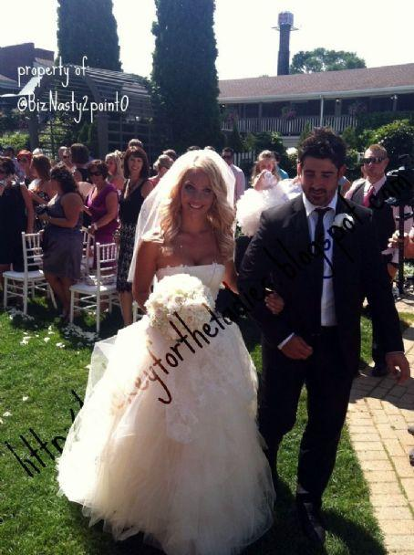 Cal Clutterbuck and Cassie DePalo marriage photo