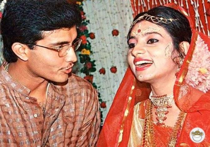 Sourav Ganguly And Dona Roy Ganguly's Daring Love Story