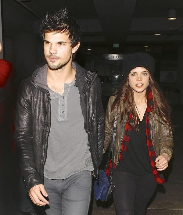 Pics Photos - Taylor Lautner Marie Avgeropoulos