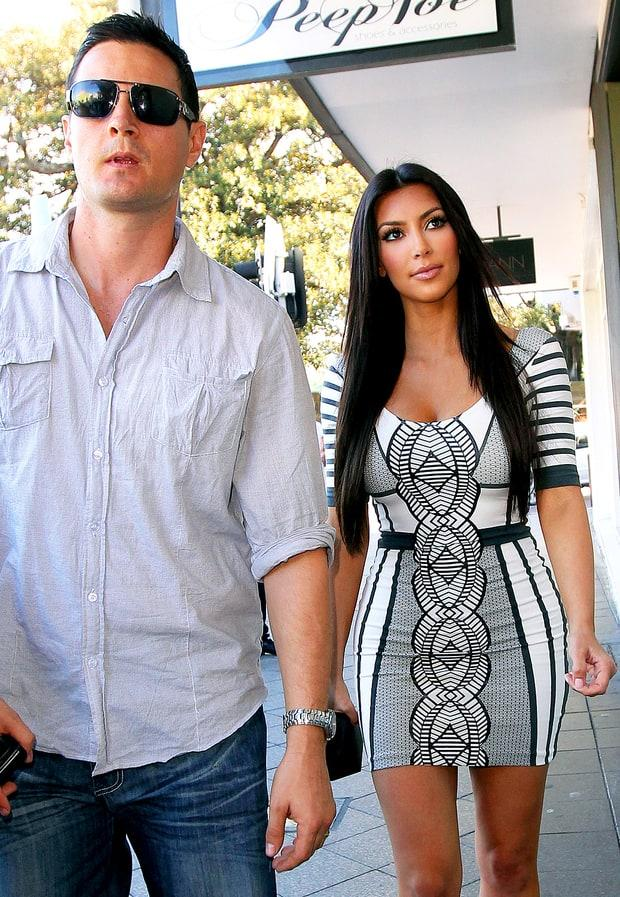 Kim Kardashian and Shengo Deane | Kim Kardashian's Love Life | Us