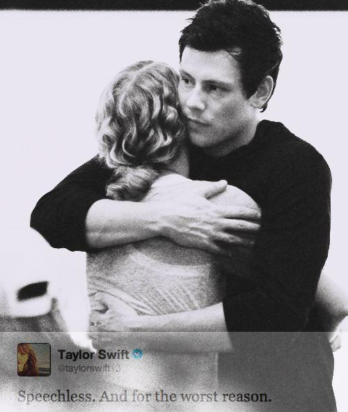 Taylor Swift & Cory Monteith, RIP Cory   Swizzle   Pinterest