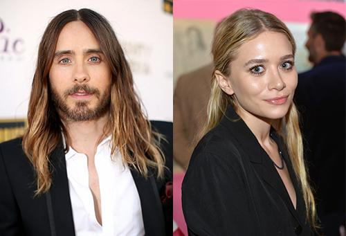 Jared Leto and Ashley Olsen Hook-up Speculations - Oh No They Didn't!