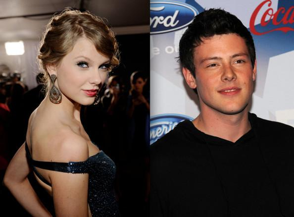 Taylor Swift and Cory Monteith Hug It Out - Taylor Swift - Zimbio