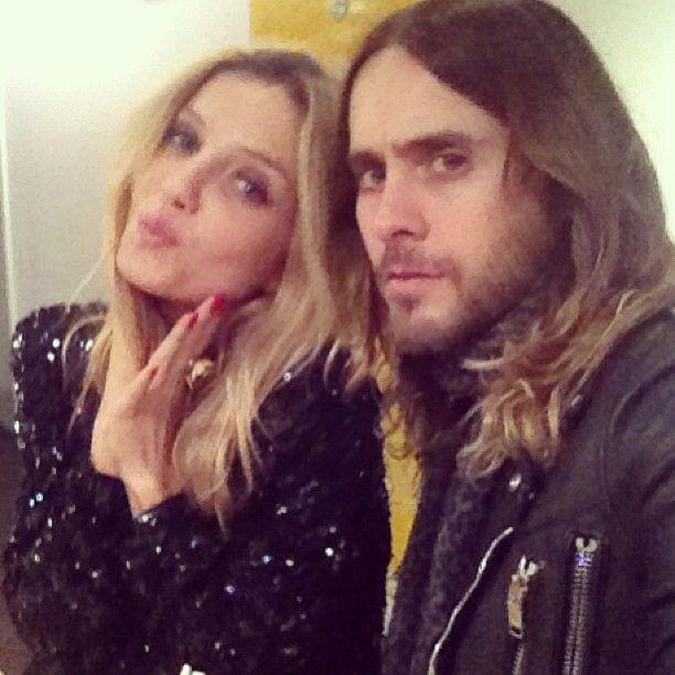 Photo of Jared Leto & his friend, actress Annabelle Wallis
