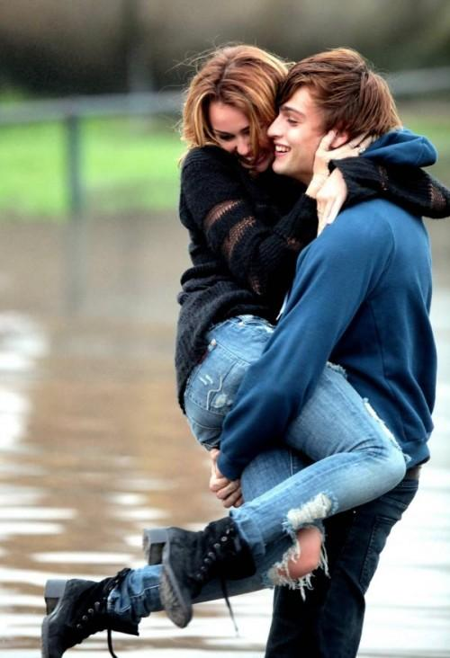 Miley Cyrus, Douglas Booth photos