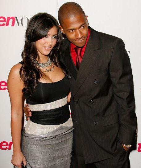 Nick Cannon Shares Kim Kardashian Throwback Photo