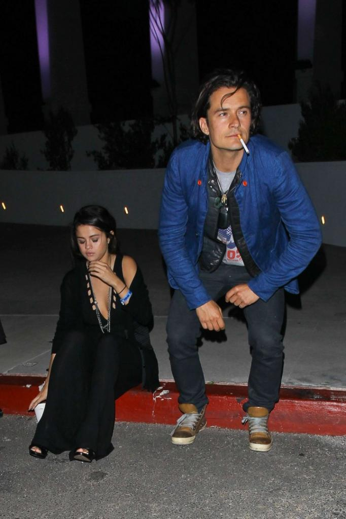 Selena Gomez and Orlando Bloom -06 - GotCeleb