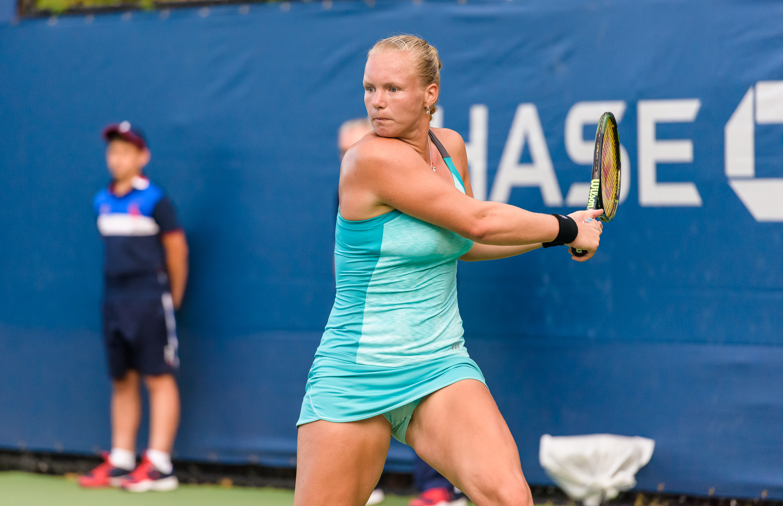 2015 US Open Tennis - Qualies - Kiki Bertens (NED)