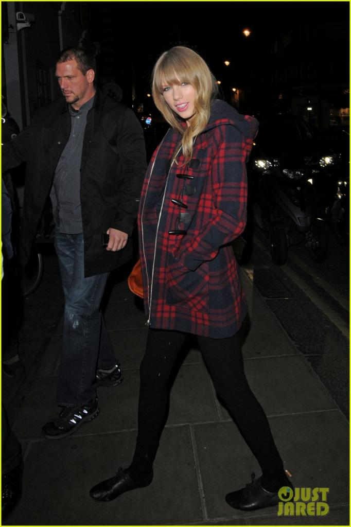 Tom Odell: London Night Out!: Photo Taylor Swift, Tom Odell