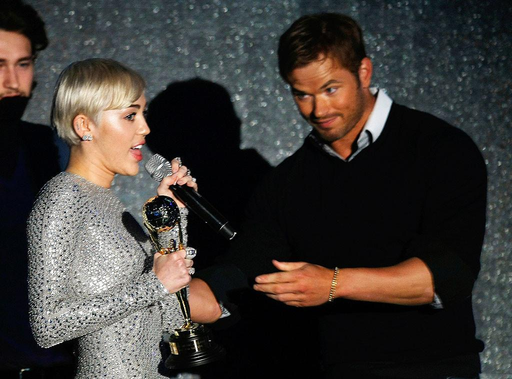 Kellan Lutz And Miley Cyrus miley cyrus and kellan lutz arrive on a