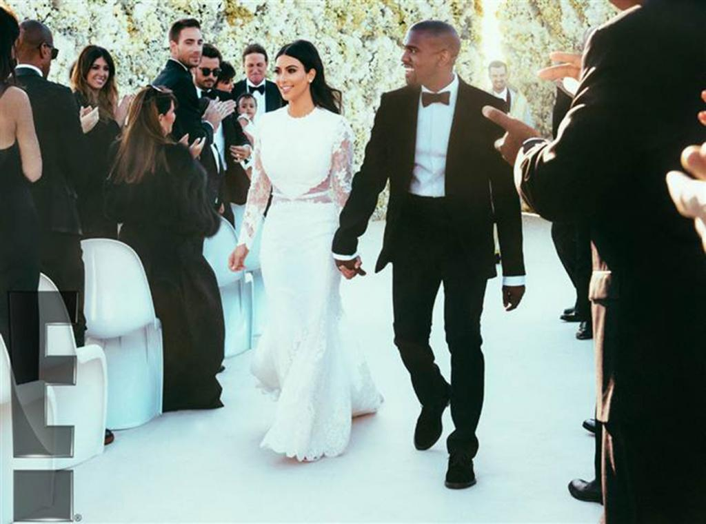 See Gorgeous Photos of Kim Kardashian and Kanye West's Lavish Wedding!