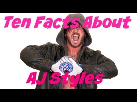 AJ Styles - Bio, Facts,Origin, Family Review - YouTube