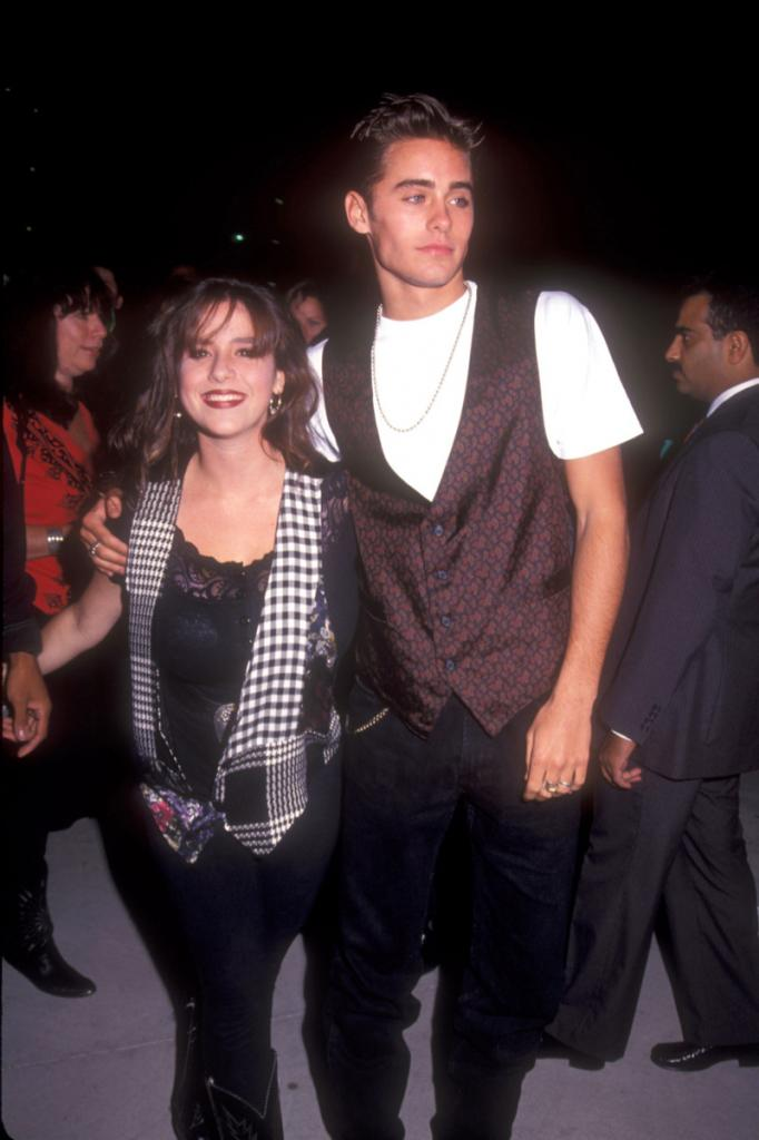 Soleil Moon Frye and Jared Leto - Young Hollywood Couples of Yore