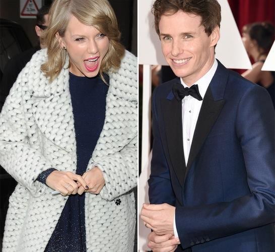Taylor Swift Eddie Redmayne Photos