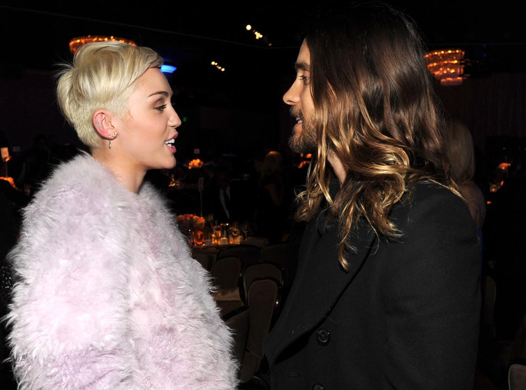 Miley Cyrus & Jared Leto from 2014 Grammys: Party Pics | E! News