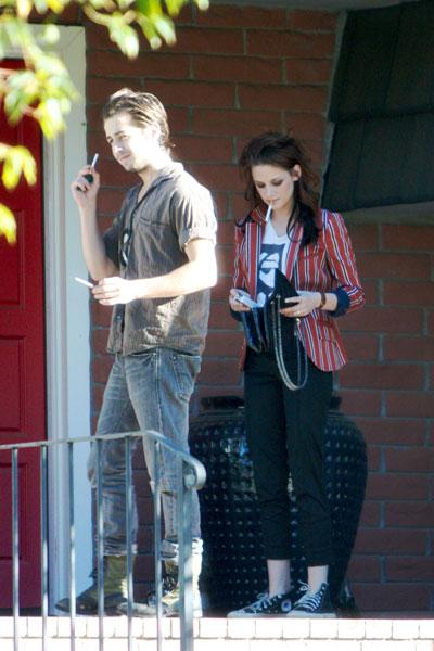 Kristen with her boyfriend Michael Angarano: lion_lamb