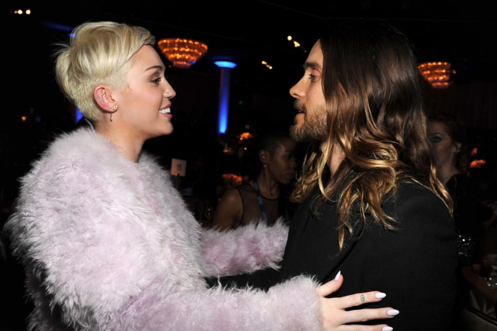 Miley Cyrus and Jared Leto Are Making Out -- The Cut