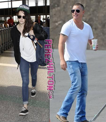 kristen stewart lane garrison living together during filming