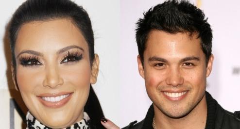 Kim Kardashian & Michael Copon Wallpapers