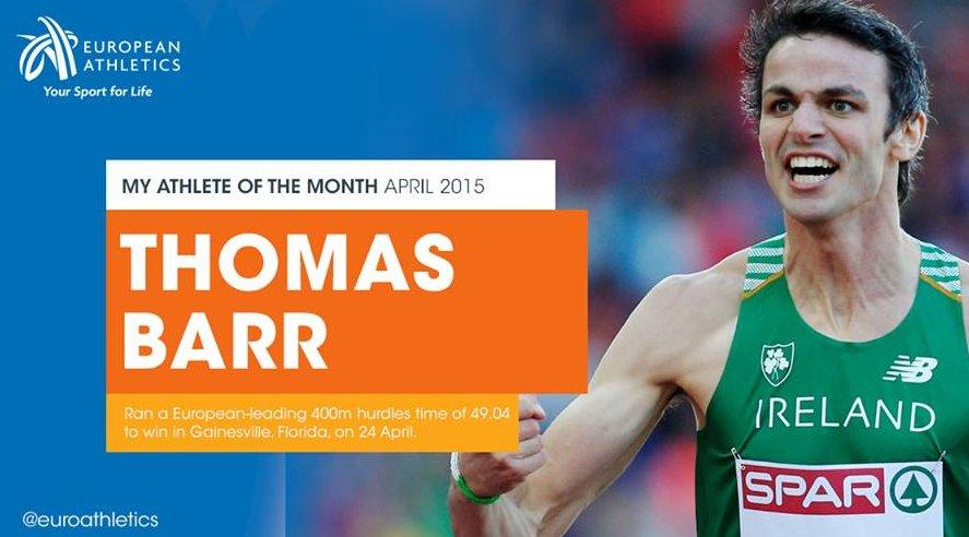 Thomas Barr   Athletics Ireland