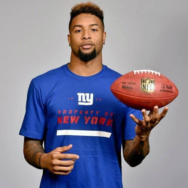 Odell Beckham Jr Official Website   NFL New York Giants Wide Receiver