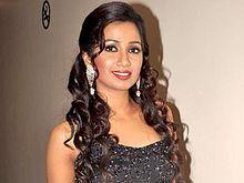 Shreya Ghoshal     Wikipedia