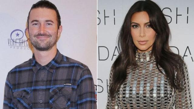 Kim Kardashian & Brandon Jenner photos