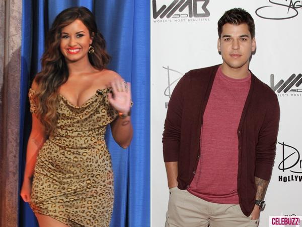 Rob Kardashian Tweets Support for Demi Lovato - Rob Kardashiantweets