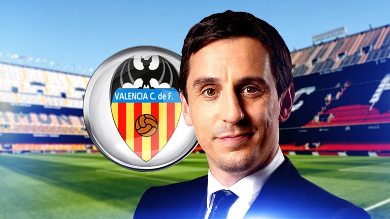 Gary Neville Named Valencia Head Coach In First Management Role
