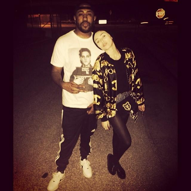 Miley Cyrus and Mike Will Made It images