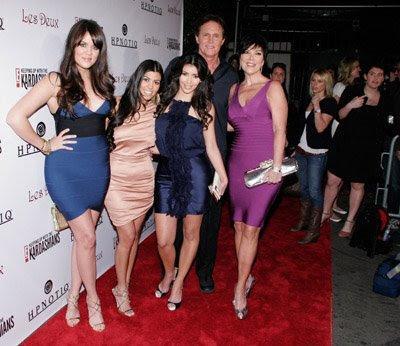 khloe kardashian kourtney kardashian kim kardashian bruce jenner and