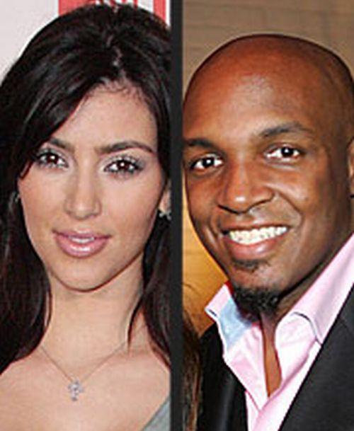 Kim Kardashian nad her first husband (ex) Damon Thomas