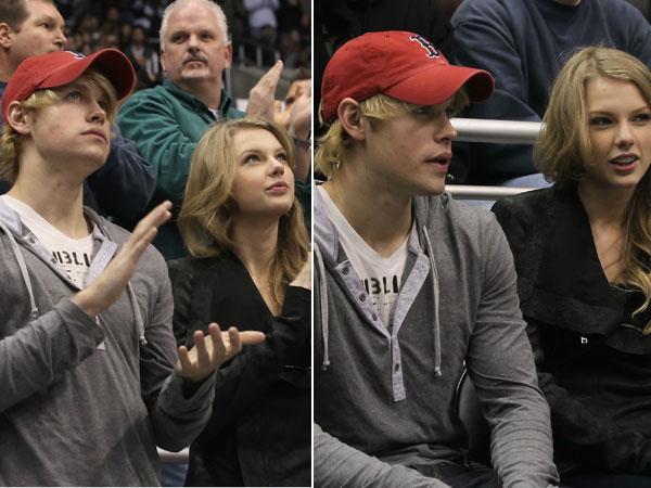 Taylor Swift & Chord Overstreet Hit Up Hockey Game | Celebuzz