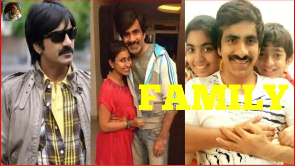 Actor Ravi Teja Family Photos With Wife Kalyani, Daughter And Son