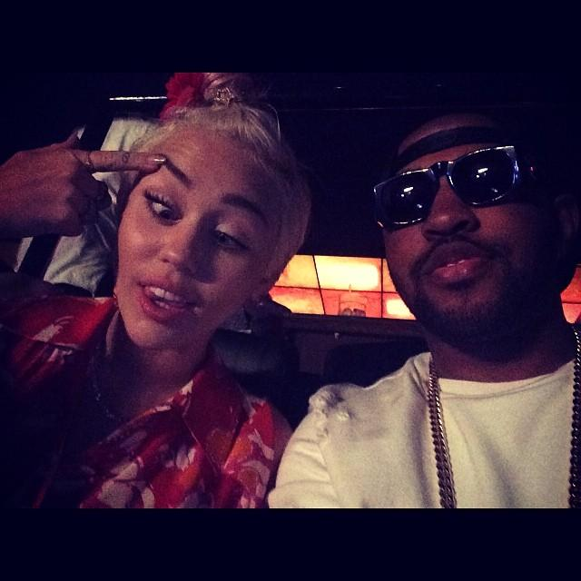 Miley Cyrus and Mike Will Made It HD photos