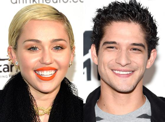 Miley Cyrus, Tyler Posey