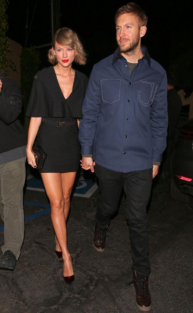 Taylor Swift and Calvin Harris HD Photos