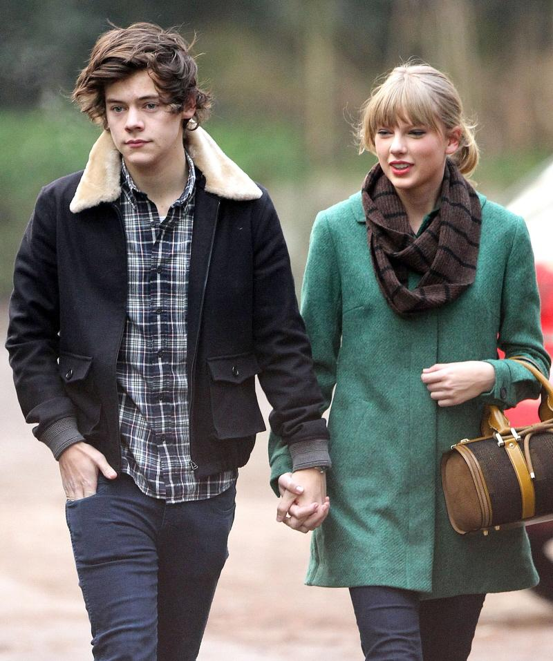 Taylor Swift flew to England to crack-stalk her way into Harry Styles