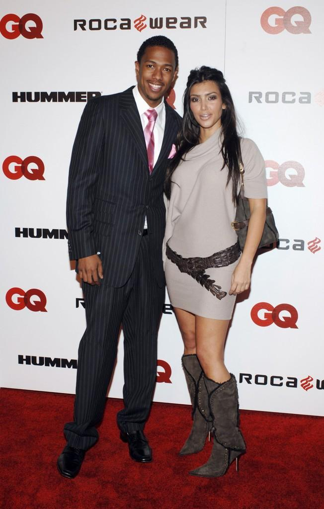 Kim Kardashian and Nick Cannon Photos Photos - Jay-Z Celebrates The