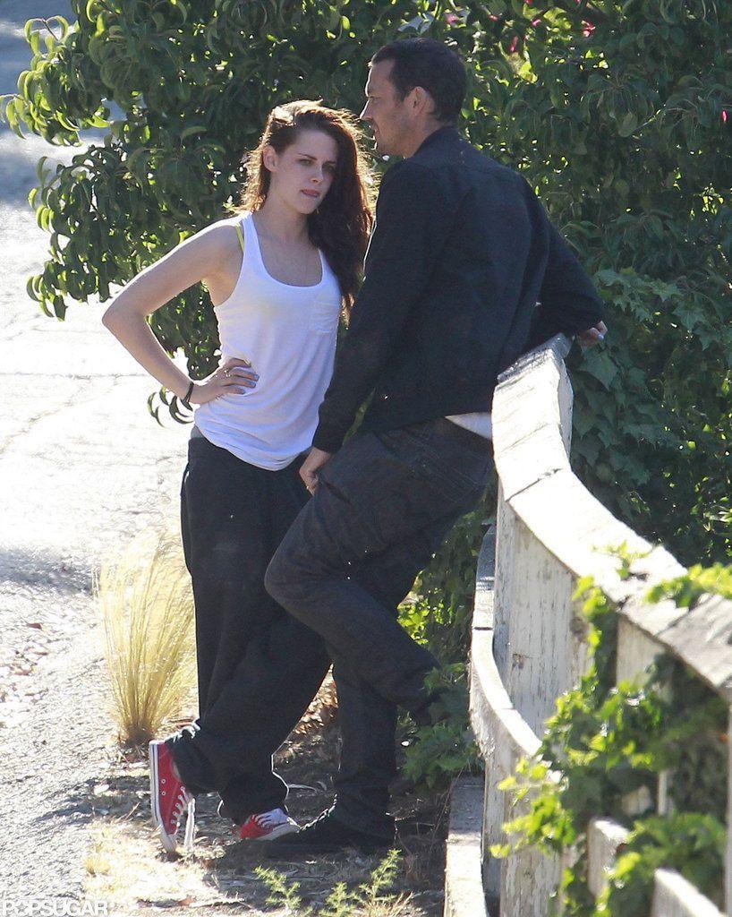Kristen Stewart & Rupert Sanders day out