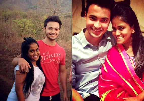 Arpita Khan-Ayush Sharma's Cosy Moments Together! (see Pics)
