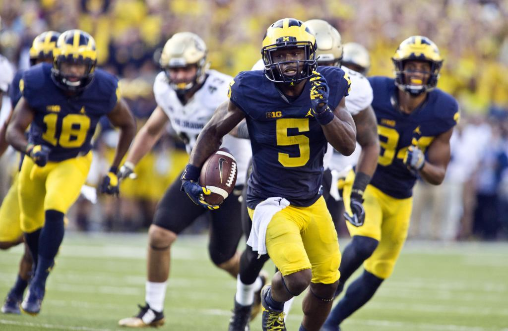 Badgers Football: Michigan's Jabrill Peppers A 3-way Threat